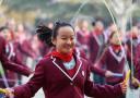 花式跳绳炫酷校园
