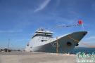 """中国海军""""戚继光舰""""访泰国 600多人赴码头迎接(组图)"""