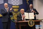 特朗普签署30年来最大规模减税法案 明年1月实施