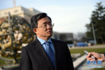 联合国副秘书长刘振民:人类命运共同体理念顺应世界发展潮流