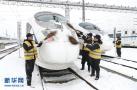 雪太大合肥南站列车停运