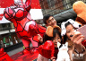 农历狗年艺术装置展亮相上海街头