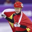 李靳宇夺短道速滑银牌