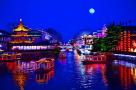 从桨声灯影,到千秋风雅,这还是我们记忆中的秦淮河!