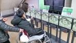 """3小时内免费使用 江苏南通首批""""共享轮椅""""受青睐"""