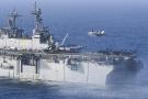 美两系攻击舰起降战机