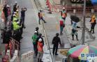 香港发现70多年前二战未爆弹 警方疏散上千人花20小时拆除