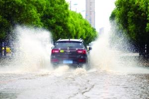 昨天江苏7地降雨量破5月单日纪录 双休日雨过天晴