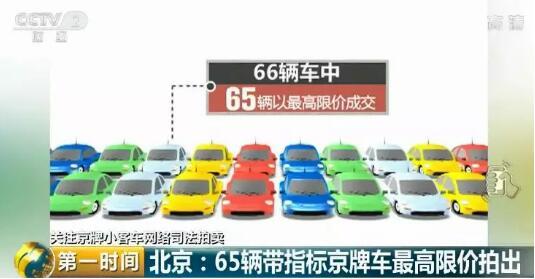 """苹果app彩票软件合法吗:不摇号也能拥有京牌车?机会来了!66辆车刚被""""领""""了…"""