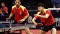 中国乒乓球公开赛中国三对组合晋级双打决赛