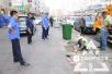 """哈尔滨一人行道每晩冒浓烟 竟是烧烤店私挖""""地道"""""""