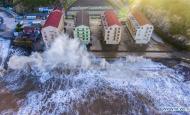 Typhoon Maria lashes Fujian and Zhejiang