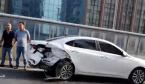 早高峰郑州陇海高架发生2车事故 致后方通行缓慢