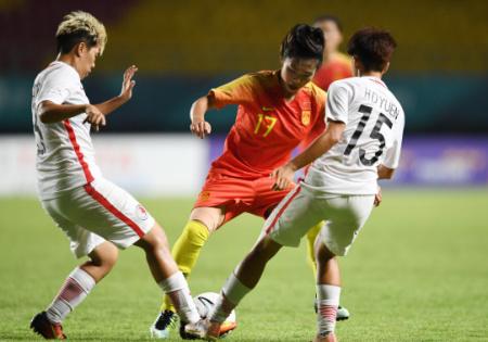 亚运-古雅沙2传2射 中国女足7-0中国香港