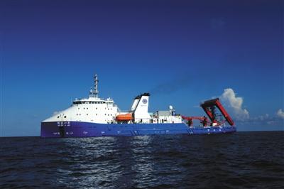 探索一号第三次万米深渊科考返航