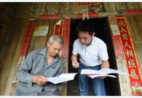 改革开放40年广西农村贫困人口从2100万降到267万