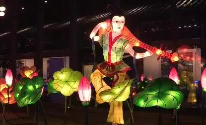 南京:第33届中国秦淮灯会启幕
