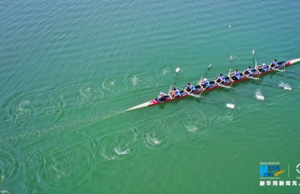 郑州·龙子湖赛艇挑战赛开赛