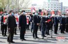 鹤壁市援鄂医疗队返鹤迎接仪式举行 马富国郭浩参加