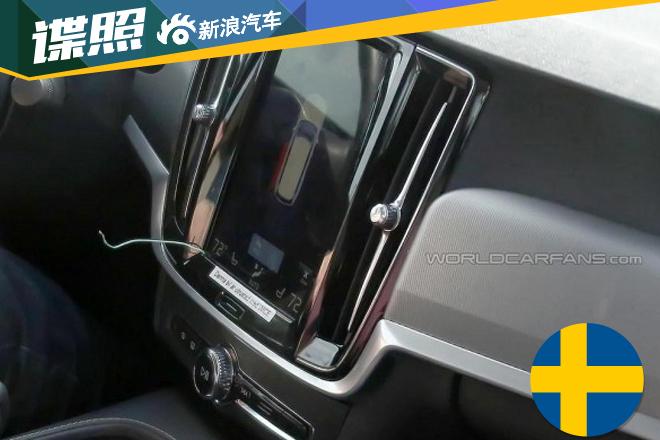 沃尔沃S90内饰实车图抢先看高清图片