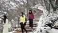 平顶山尧山景区突降雪 相比往年提前了有20天左右