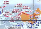 台湾政论节目谈一带一路 用的这张地图绝对让你找不着家