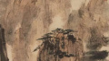 中国嘉德春拍:傅抱石《松山行旅》