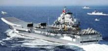 外媒称中国开建第二艘国产航母