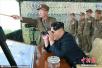 """朝鲜成功进行""""北极星""""2中程导弹发射 金正恩现场指导"""