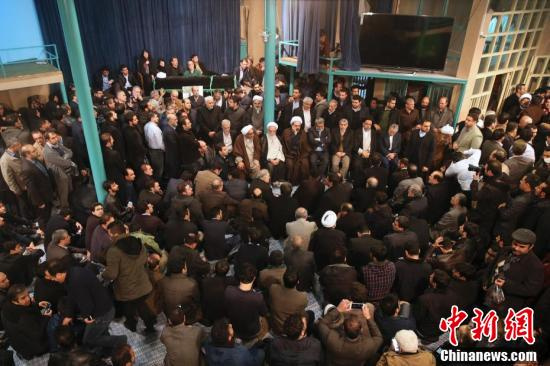 贾尼/当地时间1月8日晚,伊朗前总统拉夫桑贾尼在德黑兰因心脏病去世...