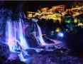 这座挂在瀑布上的千年古镇 因为豆腐店爆火