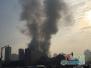 实拍南昌酒店发生火灾现场:浓烟滚滚已致3死14伤