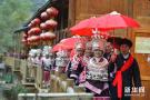 贵州苗族同胞欢度苗年