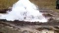 汝州一山村200米深井自动喷水 村民们喜出望外
