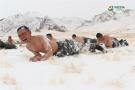 -20℃雪中赤膊训练
