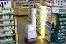 人工智能机器人进超市