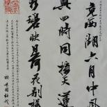 杨为国书法