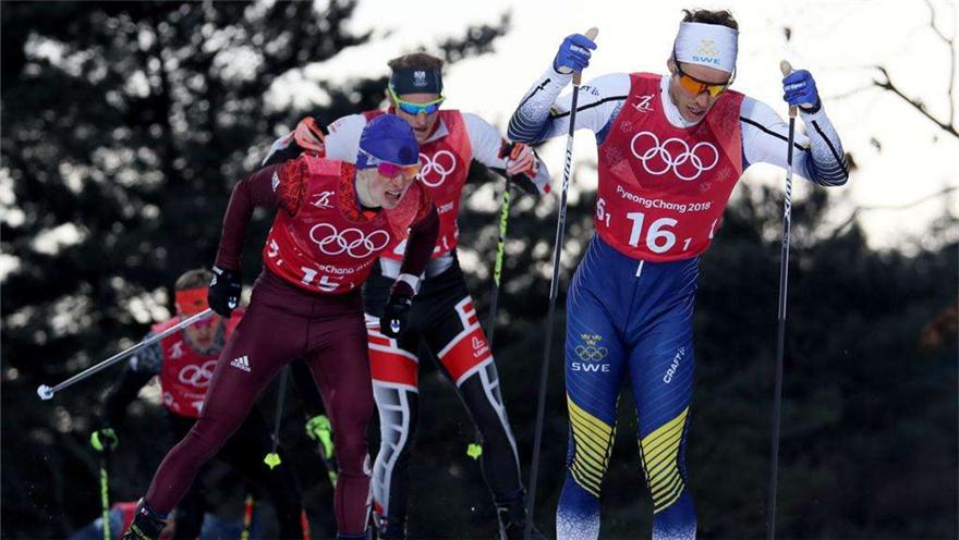 关注平昌冬奥会 中国队无缘越野滑雪团体短距离决赛