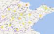 山东省中西部城市26--28日会有一次轻中度污染过程
