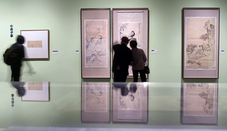 纪念陆抑非诞辰110周年作品展在杭州举行