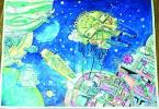 走近哈尔滨孤独症孩子 十年磨一剑星星的孩子痴迷绘画