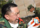 汶川地震中的军人身影