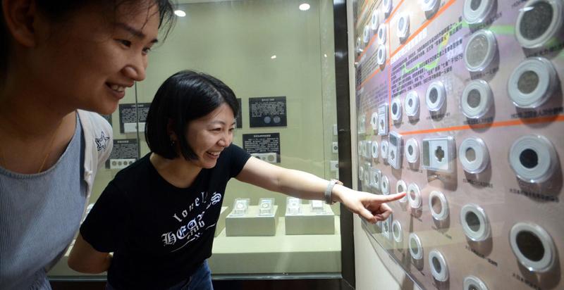 从古至今、从国内到国外 江西首家钱币博物馆收藏万余件