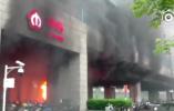 突发!南京地铁3号线林场站发生火灾 现场火苗乱窜