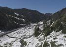 新疆五月雪后哈密