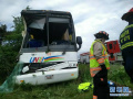 实拍:加拿大交通事故