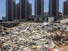 无锡一建筑垃圾场露天扰民 整改还居民舒心环境