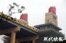 米黄色!南京长江大桥桥头堡全新亮相