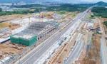 实地探访:杭黄铁路桐庐站雄姿初现 整体建设体已完成70%