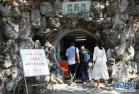 南京开放防空洞供市民纳凉